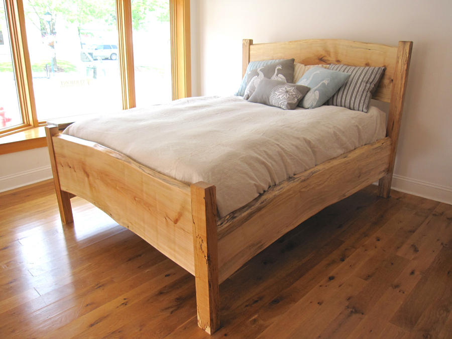 Spalted Maple QueenBed